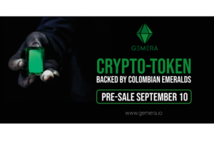 GEMERA, the Colombian Emerald-Backed Crypto-Token, Announces Pre-Sale to Commence September 10th