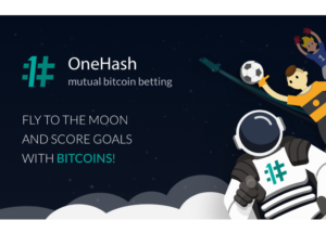 Fly to the Moon and Score Goals With Bitcoins on OneHash