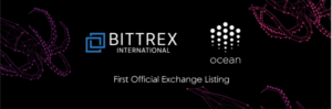 Ocean Protocol Token OCEAN Trades on Bittrex International Today