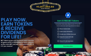 EOSBet.io Gets a New Look, Adds Support for BCH, and Rewards Free BET Tokens for New Sign-Ups