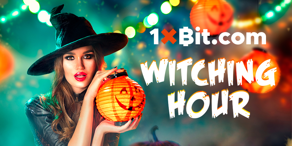 1xBit Launches New Live Halloween Casino Tournament 'Witching Hour'